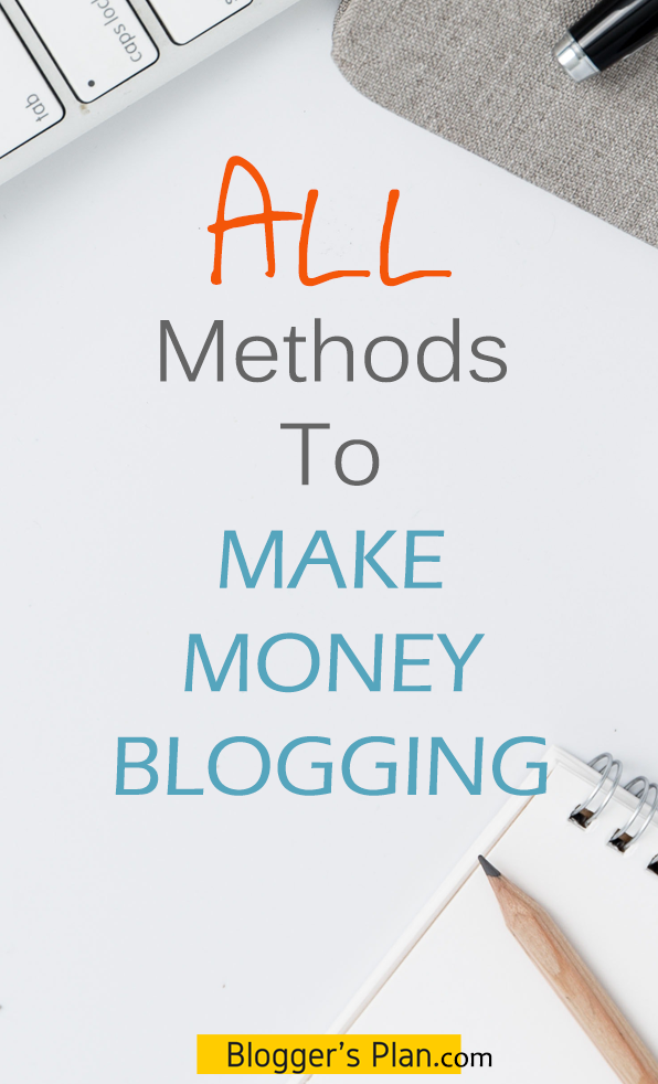 Want to know how to monetize your blog for beginners? Follow this step by step guide which covers all of the ways to monetize blog and learn do you monetize a blog or wordpress website from the beginning. Sell products, service, monetize your property etc to make money blogging. Want to know it all about blog monetization? It's all here! #blogging #bloggingtips #makemoneyblogging