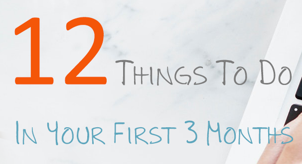 Follow this step by step list of 12 Things to Do In Your First 3 Months of Starting a Blog full of blogging tips for beginners. Tips Before and after your start your blog.