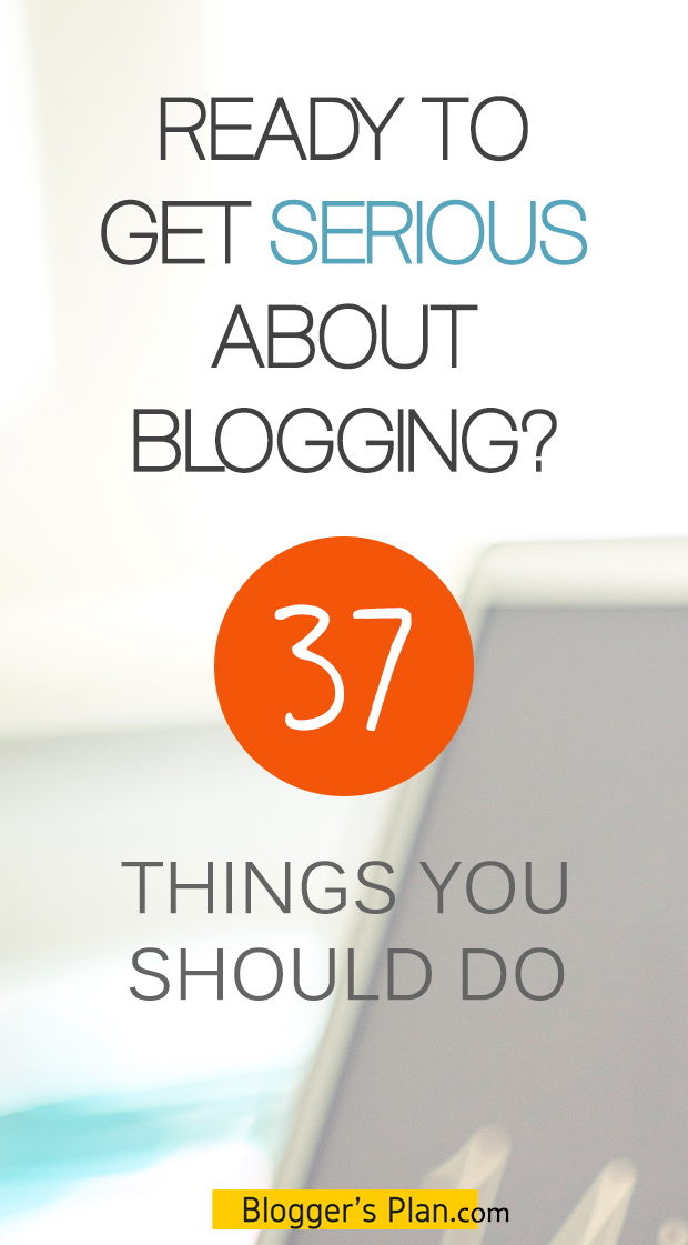 Want some help with your upcoming blogging career? Here's a must-read list of things you have to know. How To Get Serious About Blogging - Blogging Tips For Beginners When You Want To Get Started With Your WordPress Blog / Website.