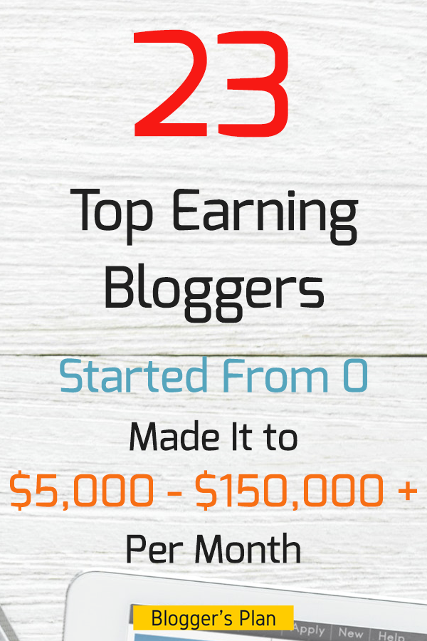 Top 23 Highest Paid Bloggers